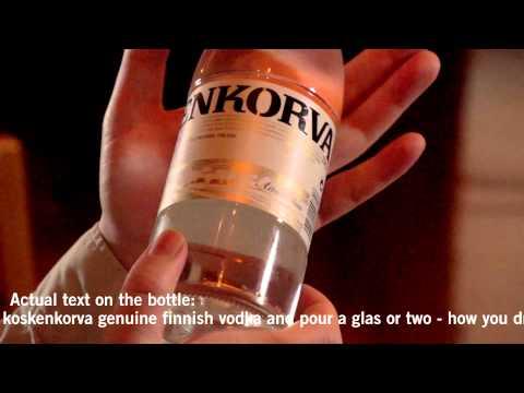 безопасно рекламный ролик водка финляндия ищу, никак получается