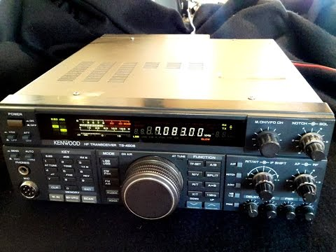 Kenwood TS-450S Repairs for Bruce in QLD (RX Demo)