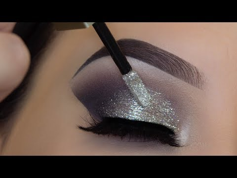 5 Minute Glitter Eye Makeup | Easiest Glitter Look Ever!!