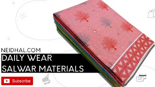 EXCLUSIVE DAILY WEAR COTTON MA…