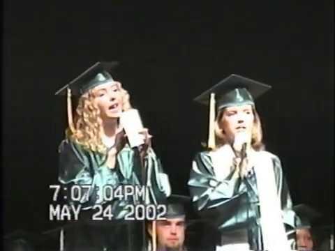 2002 Flomaton High School Graduation
