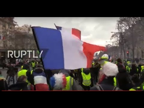 LIVE: Yellow vest protesters call for 11th week of demonstrations in Paris