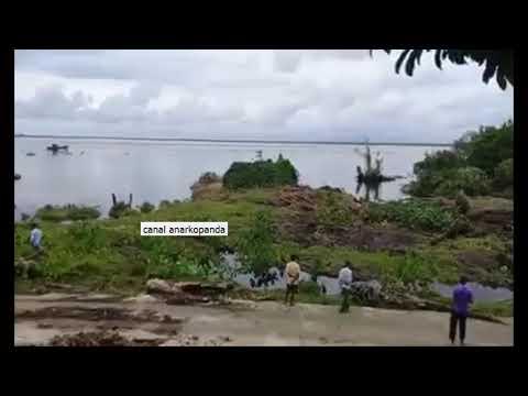 Vídeo: Graban olas de Tsunami en un río de Indonesia. 4 de Enero 2018