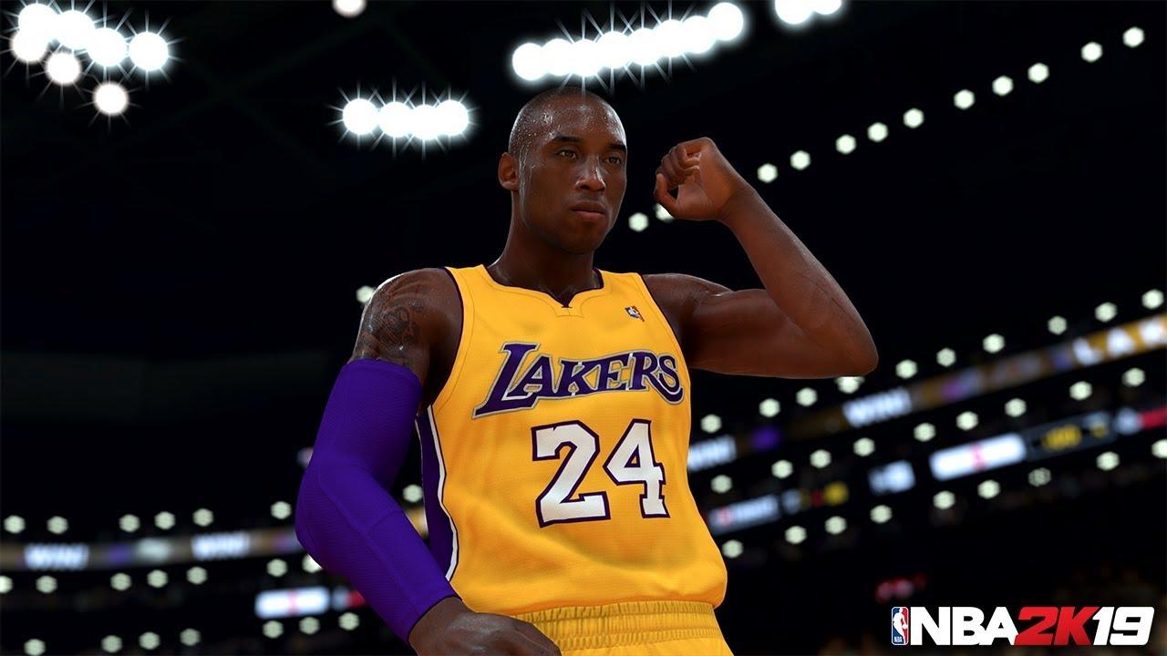 Todos los juegos donde apareció Kobe Bryant. NBA2K19.