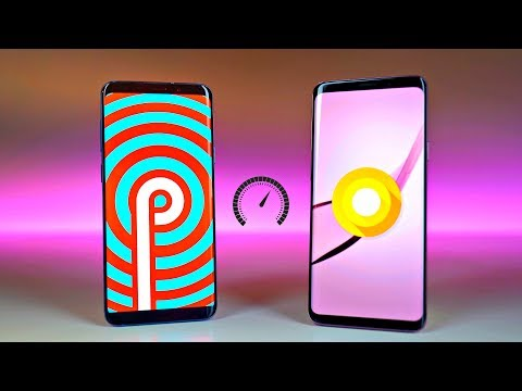Samsung Galaxy S9 Plus One UI Android 9.0 Pie vs Experience UI Android 8.0 Oreo - Speed Test!