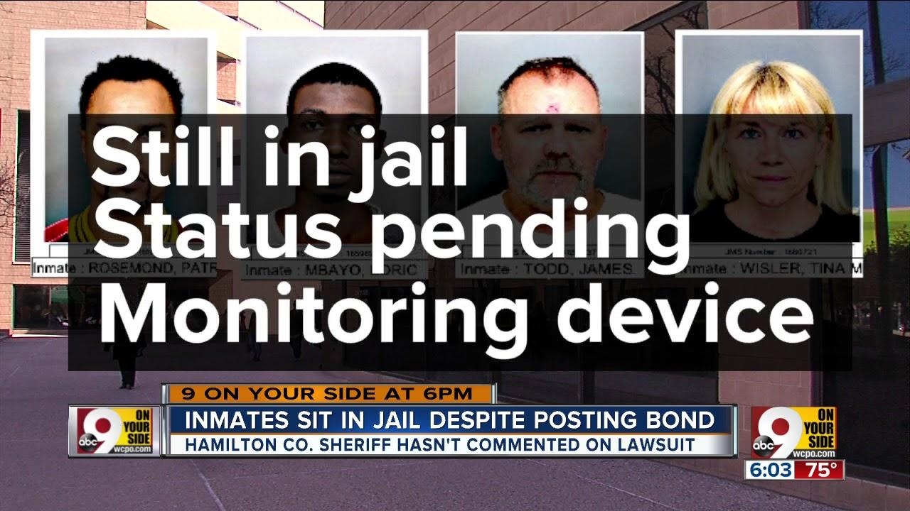 Inmates still in jail despite posting bond