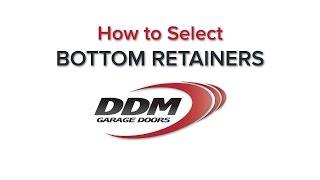 Garage Door Bottom Seal Retainers: Directory