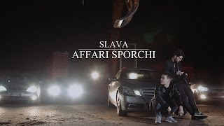 Slava - AFFARI SPORCHI Prod. Edera (Lyric Video)