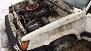 Old start cold start 86 Toyota Tercel 4WD