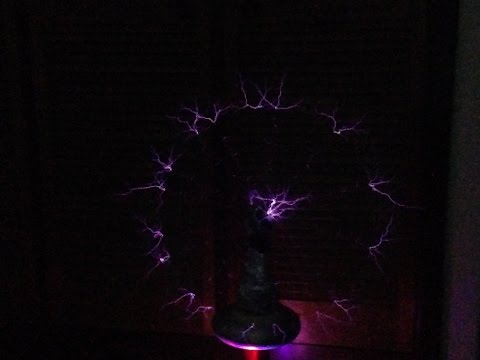 Spinning musical Tesla Coil!!!!!