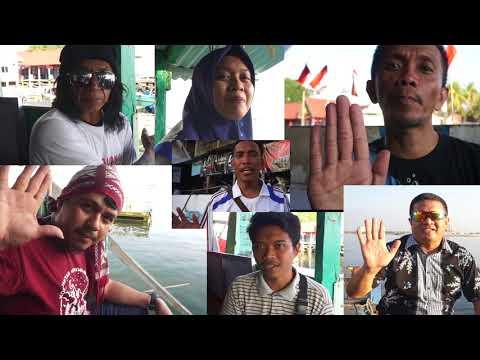 """Peringatan 73 Tahun Indonesia """"Gerakan Bersih Pantai & Laut"""" MENGHADAP KE LAUT"""