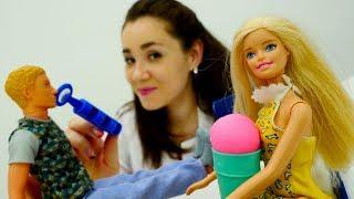 Барби мультфильмы: Кен потерял голос! Видео для девочек