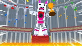 Funtime Foxy Wins Party Games (Minecraft Fnaf Roleplay Adventure)