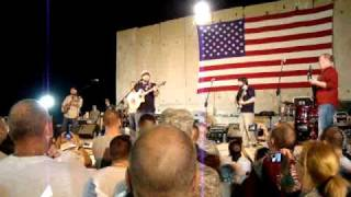 Zac Brown Band - Big Fat Bitch & Devil Went down to GA live in Iraq