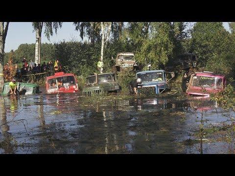 Off-Road Truck Mud Race and Super Swim | Andsumae