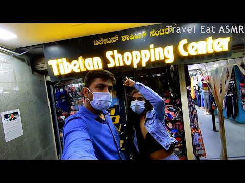 Tibetan Market Bangalore Dubai Plaza Shopping post Lockdown टिबेटन् मार्केट दुबई प्लाजा बंगलौर व्लॉग