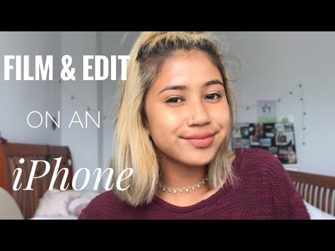 How I Film & Edit on my iPHONE | Lily Adlin