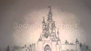 Disneyland Castle Drawing