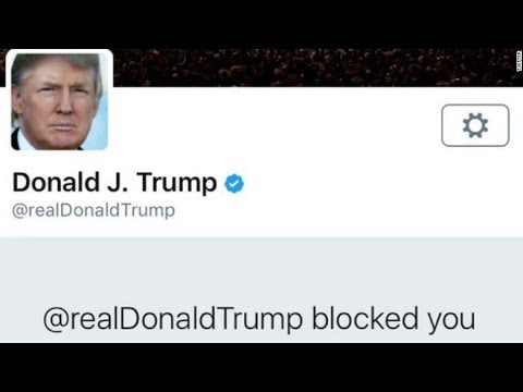 It's Illegal For President Trump To Block You On Twitter