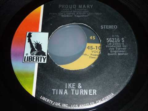 Ike & Tina Turner - Proud Mary - 45rpm