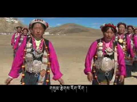Tibetan Nangma Song(ཚོང་འདུས་ཁ་དཀར་གླིང་ལ།)