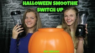 Halloween Smoothie Switch Up Challenge ~ Jacy and Kacy