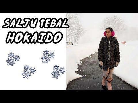 Salju Tebal di Hokkaido !