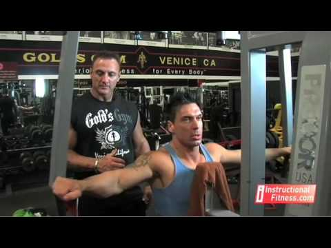 Instructional Fitness - Rear Delt Machine