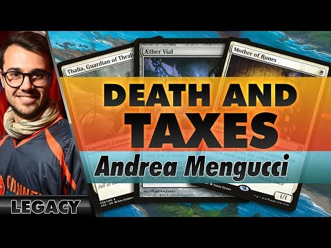 Red-White Death & Taxes - Legacy | Channel Mengucci