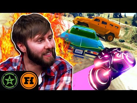 Let's Play Hot Seat: GTA V Feat. James Buckley