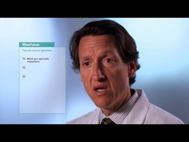 Dr. Eric Genden on Thyroid Cancer and Genetics