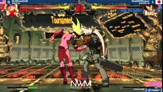 #NWM7 #GGXRD T16 LF - SLP DavidCue (ZAT) vs NeoGAF Dogura (SOL)