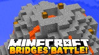 """Minecraft SPECIAL BRIDGES BATTLE! """"DREAM TEAM!"""" #13 w/ PrestonPlayz & MrWoofless"""