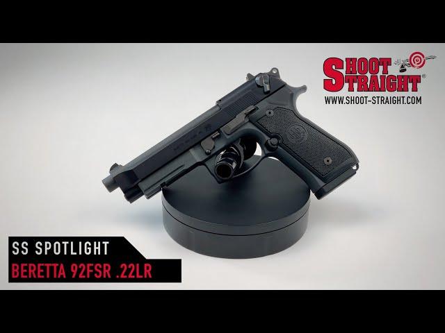 BERETTA 92FSR 22 - Shoot Straight Spotlight