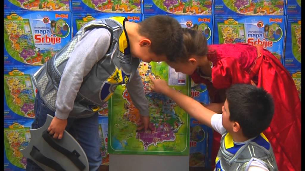 mapa srbije pertini Mapa Srbije