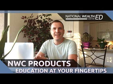 National Wealth Center Products 2017