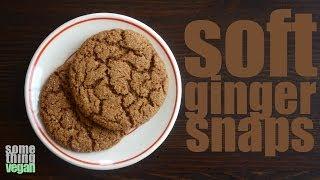 Soft Gingersnaps (vegan And Gluten-free) Something Vegan