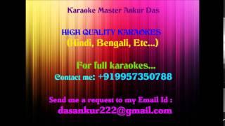 Ekdin Pakhi Ure Karaoke By Ankur Das 09957350788