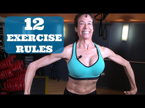 Menopause Barbie's 12 Rules of Exercise 17