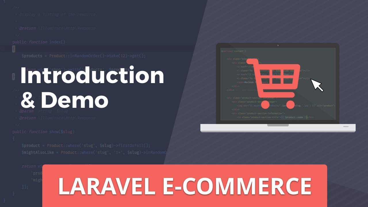 Laravel E-Commerce - Introduction