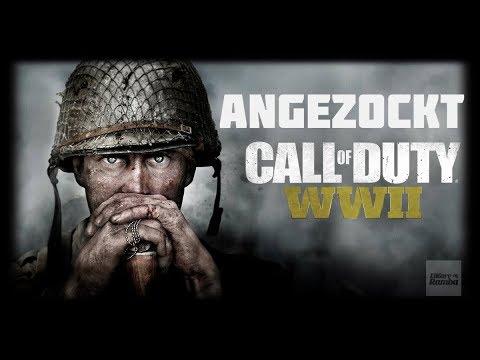 Let's Play Call of Duty: World War II | Den Shooter Angezockt! [ German - Deutsch - Gameplay ]