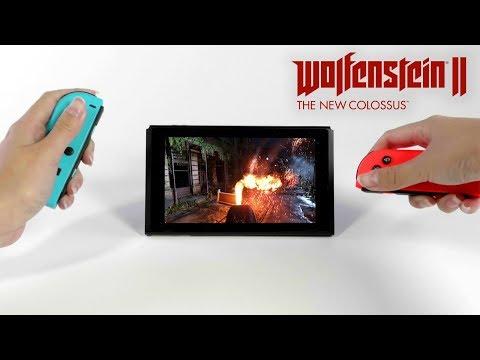 Wolfenstein II – Trailer de lançamento no Nintendo Switch
