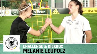 HORSE-Challenge vs. Melanie Leupolz | Frauen Nationalmannschaft | Kickbox