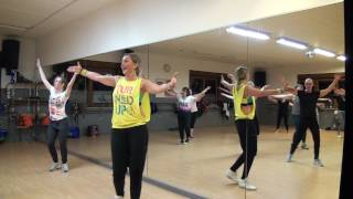 Zumba à Liège - salsa (befor cool down) - Lost on You-LP (Salsa Version by Cubaneros)