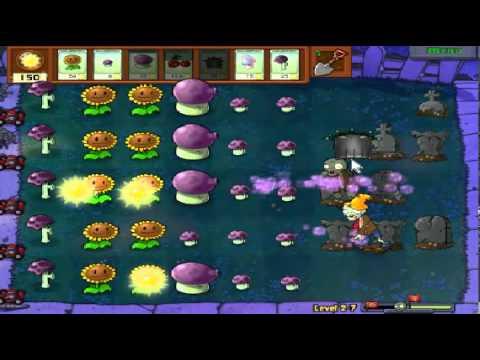 Plants vs zombies (Trồng cây bắn zombie) - Cấp độ 2-7 (Game Việt Hóa)