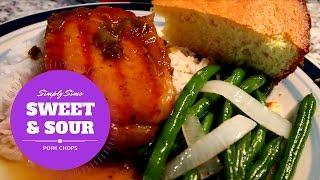 Delicious Sweet & Sour Pork Chops recipe