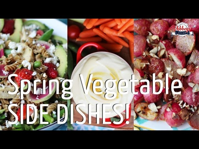 3 DELICIOUS VEGETABLE SIDE DISHES You Actually Want to Eat with Honey Dijon Mustard