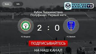 ФК Худжанд 2:0 ФК Баркчи ( Видеообзор )