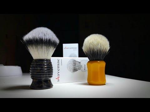 Бритье. Эксклюзивная распаковка на День Рождения канала Mr. Бритва!!! SHAVEMAC Shaving Brush.