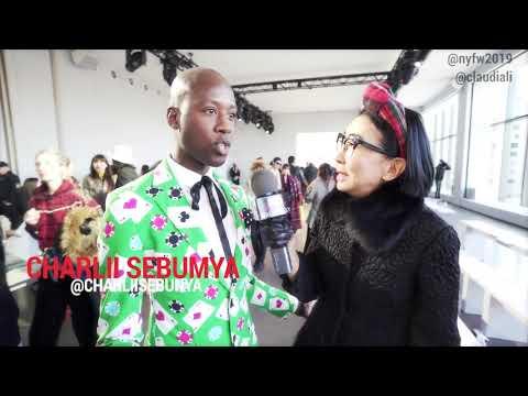 Street Style with the SPECTACULAR Charlii Sebumya | NYFW 2019